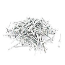 Rivets Pop à grande bride en Aluminium   100 pièces 3.2mm 1/8
