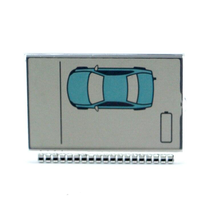 Автомобильный пульт дистанционного управления с двухсторонним ЖК-дисплеем, версия для России, ZX1060