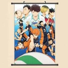 Anime Manga Haikyuu!! Peinture sur rouleau murale 40x60   Autocollants de papier peint, affiche 001