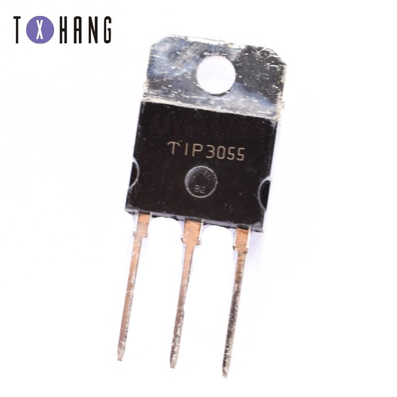 5 unids/lote TIP3055 3055 TO-3P transistor nuevo