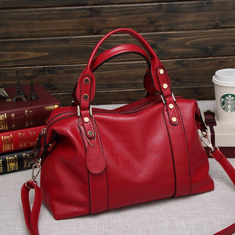 2021 Luxury  Leather Women Handbags Designer Brand Women tassel Shoulder Messenger Bags Female tote Vintage Handbag