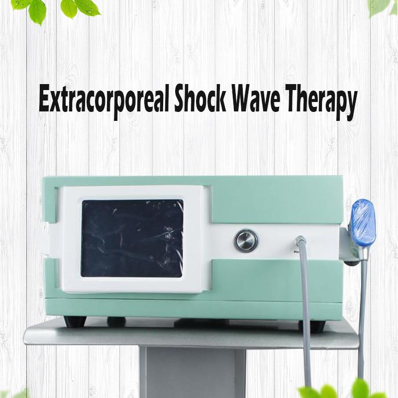 8 Bar infinito disparos Shockwave máquina de la terapia de ondas de choque Dispositivo acústico artritis el alivio del dolor muscular calmante S