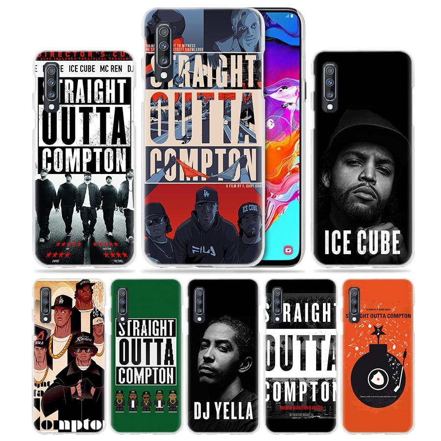 Straight Outta Compton NWA caso para Samsung Galaxy A50 A80 A70 A60 A40 A30 A20e A10 A51 M31 A7 A9 2018 dura del teléfono de la PC de la cubierta
