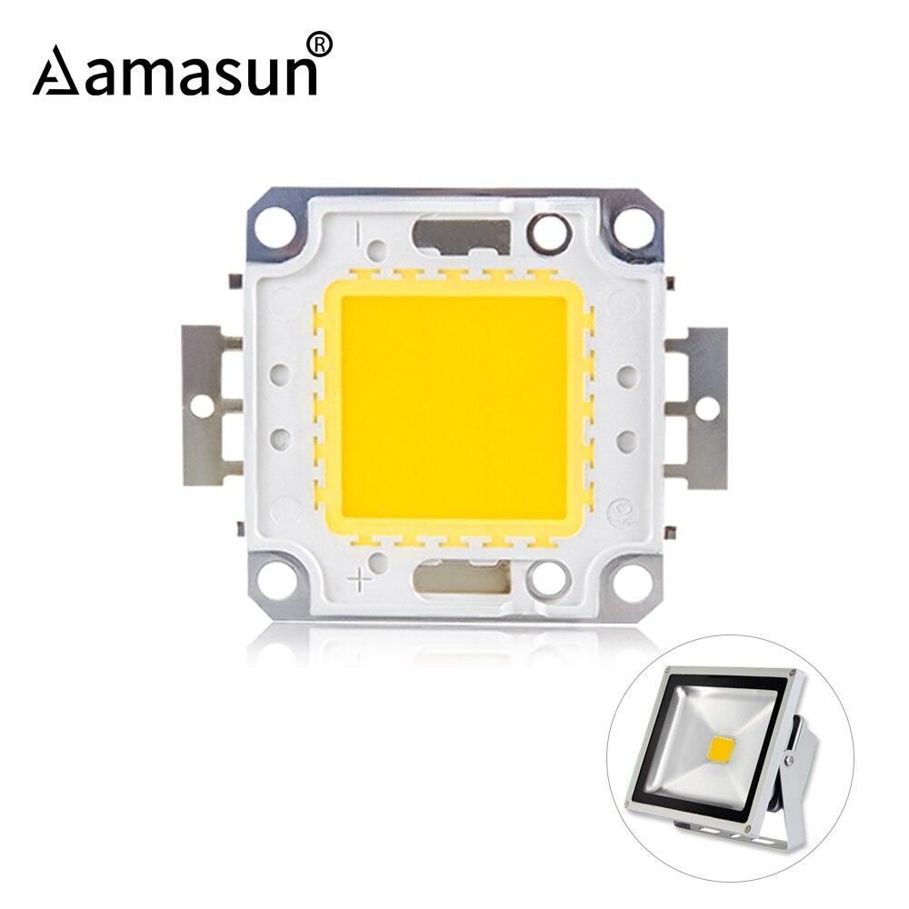 Chip LED de 12V, 10W, 30V, 36V, 20W, 30W, 50W, 100W, LED COB integradas, punto DIY para reflector, reflector, blanco cálido y frío