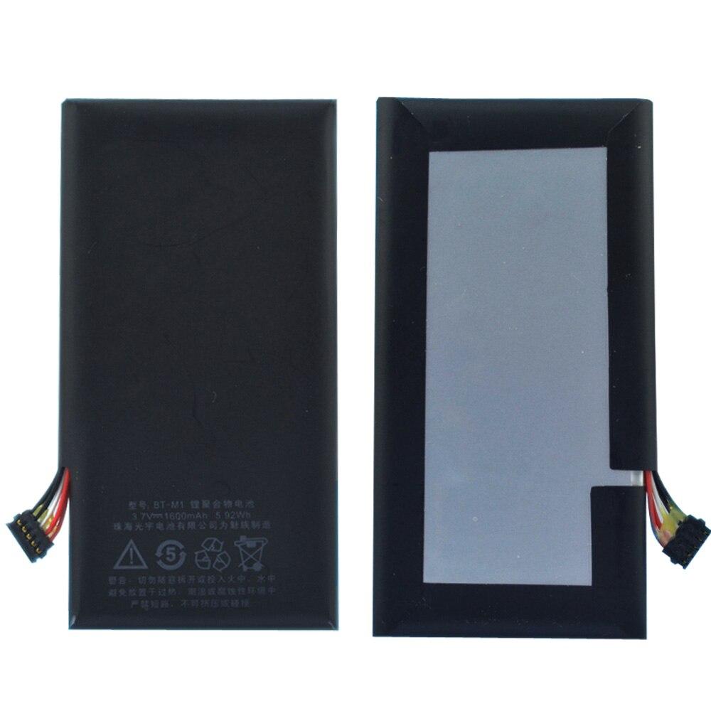 Original MX1 batería MX BT-M1 M030 1600 mAh para Meizu MX1 de la batería del teléfono móvil de alta calidad en stock