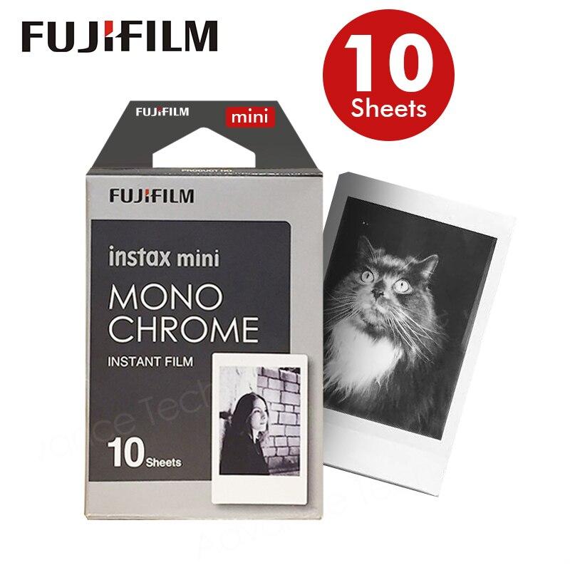 Original Fujifilm Fuji Instax Mini 8 Blanco Y Negro Película de 10 Hojas Para 70 50 s 7 s 90 25 Compartir SP-1 Cámaras Instantáneas Nuevo llega