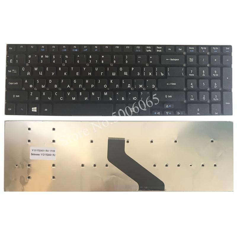 Ruso/RU teclado del ordenador portátil para Acer Aspire E1-522 E1-522G E1-510 E1-530...