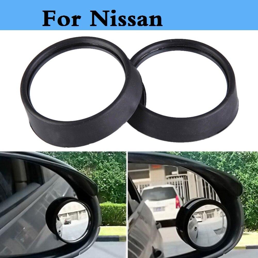 Auto nuevo espejo convexo ciego pequeño espejo retrovisor redondo, para Nissan Maxima Micra Moco Murano nota rt Fairlady Z Figaro Fuga de