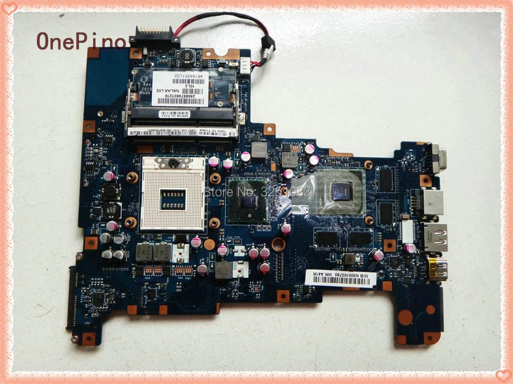 NALAA LA-6042P для Toshiba Satellite L670 L675 ноутбук L670 L675 материнская плата HM55 K000103830 K000103790 100% идеально подходит для работы