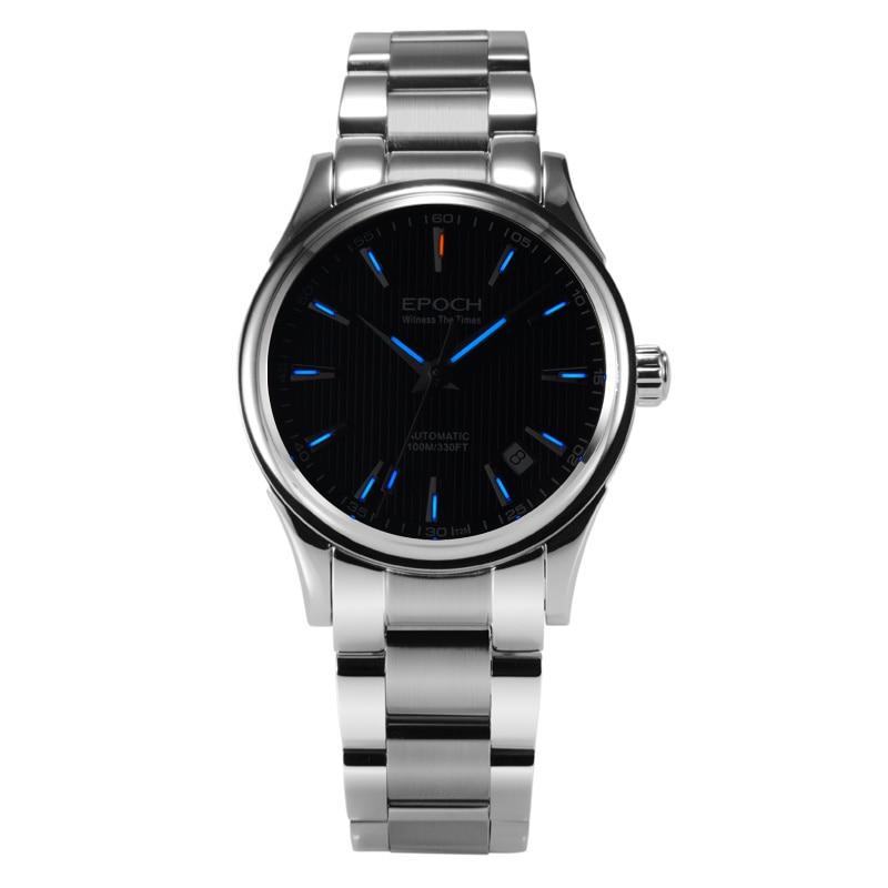 Age ch-ساعة يد ميكانيكية للرجال ، ساعة يد بحركة التريتيوم ، الياقوت ، مرآة مضيئة ، أوتوماتيكية ، 6029G-E