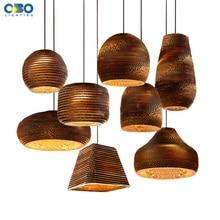 Creative Vintage papier nid dabeille suspension lampe barre intérieure ornement éclairage E27 support de lampe 110-240V livraison gratuite