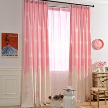 Rideaux de chambre denfants rose bleu   Imprimés de château, rideau et Tulle imprimés, Pour bébés filles enfants