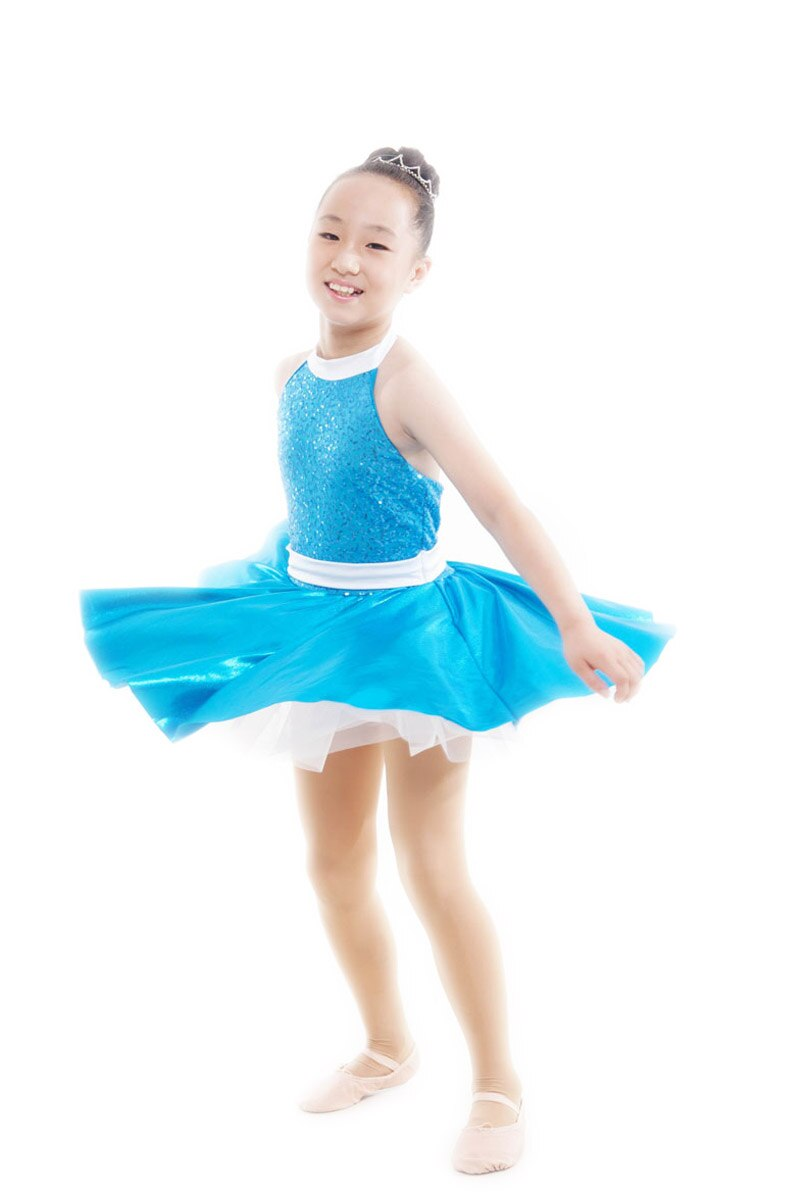 2018 Acetate Sale Hot Sale Ballet Tutu Ballet Dress For Children Child Latin Dance Clothes Female Leotard Costume Skirt Summer
