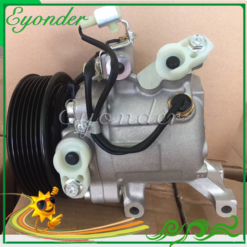 Auto AC A/C Air Conditioning Compressor Cooling Pump PV6 SV07C for Toyota Passo Rush Daihatsu Terios 447160-2270 447190-6121