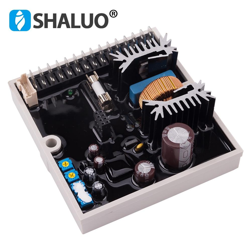 SHALUO DSR AVR مولد الديزل منظم جهد كهربائي أوتوماتيكي ل Mecc Alte مولد استقرار المولد ضبط وحدة أصيلة