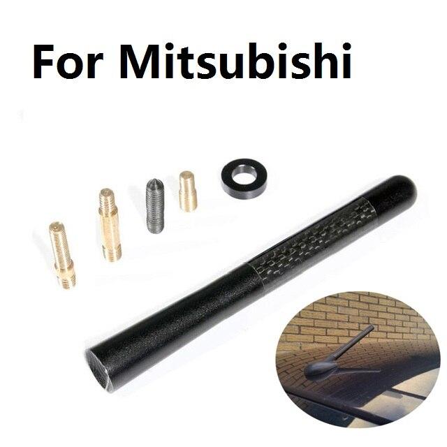 Auto Styling Carbon Fiber 12 cm Kurzen Radio Antenne Für Mitsubishi Airtrek Asx Attrage Carisma Challenger Colt Eclipse Ek Endeavor