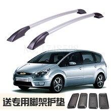 Zubehör Umrüstung die dach rack von aluminium legierung gepäck rack für Ford S - MAX Auto teile 1,7 M
