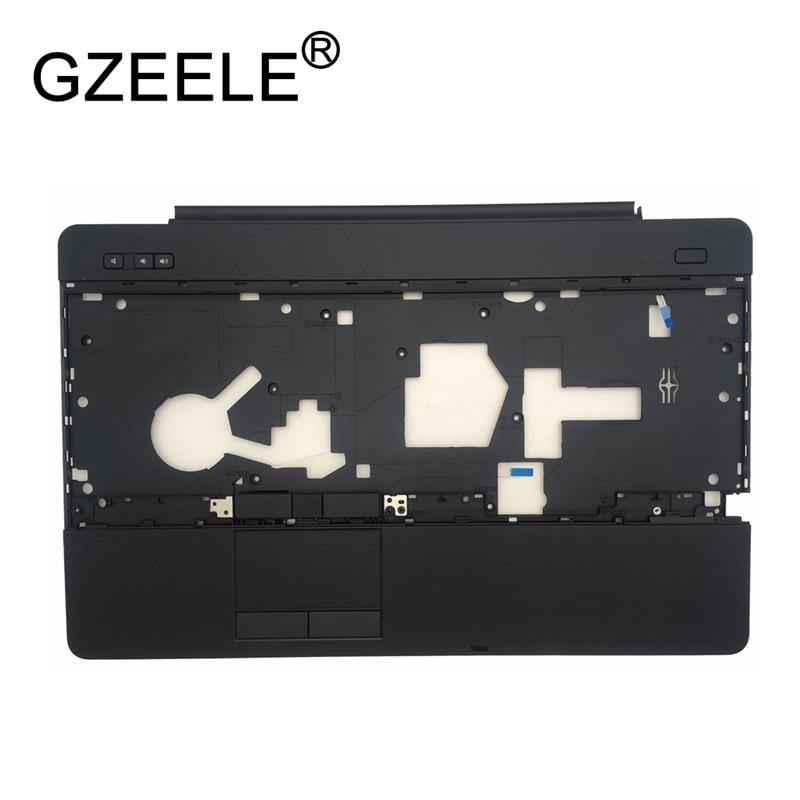 GZEELE новый для DELL Latitude E6540 ноутбук подставка для рук CHB02 0GPV9K GPV9K YG80M W/сенсорная панель сборка верхний чехол клавиатура ободок черный