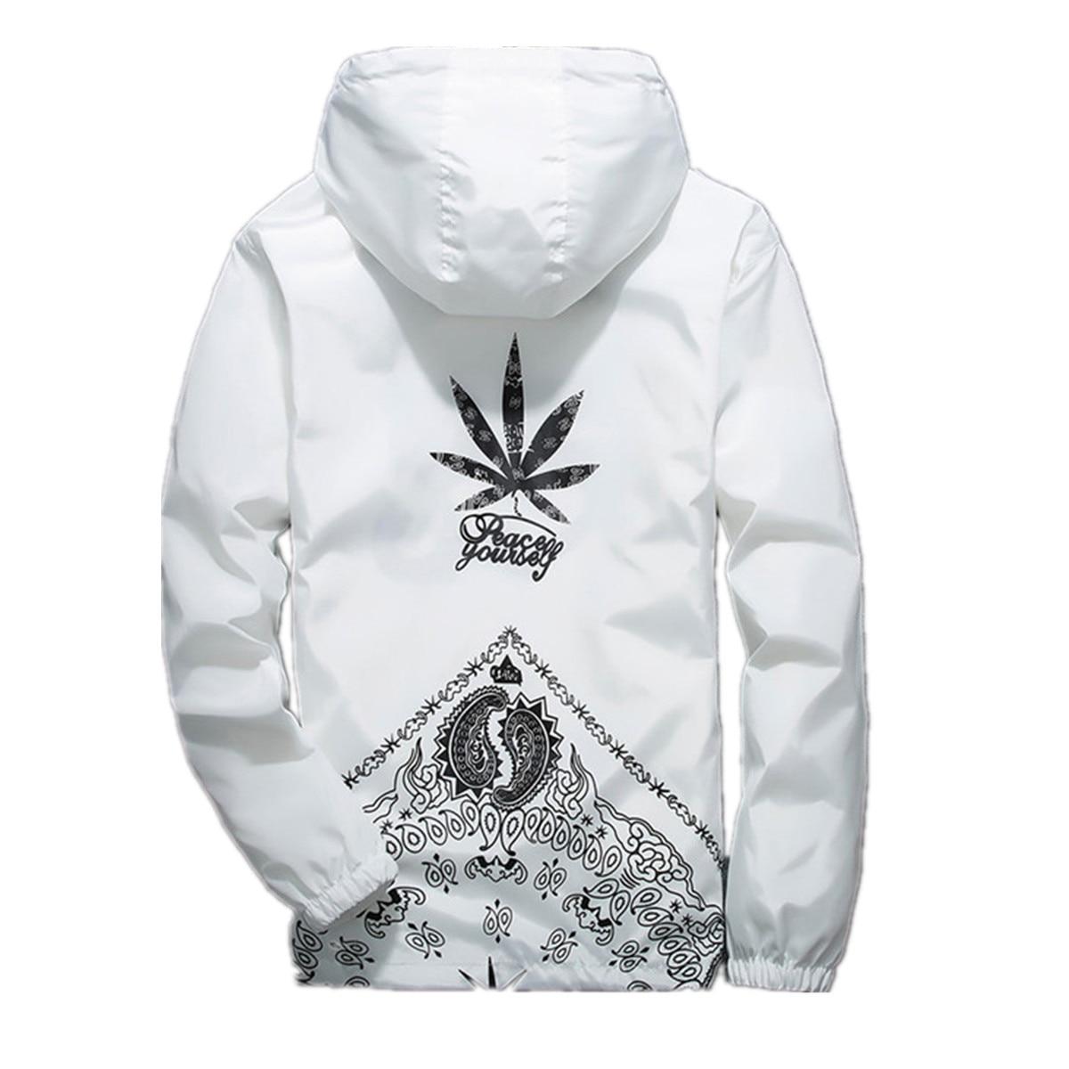 New Arrival Spring Summer WINDBREAKERS Jacket Mens Jackets Mens Jacket Hip Hop Coats Streetwear US Size M L XL XXL