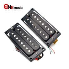Double bobine 8 cordes guitare électrique Humbucker micros noir