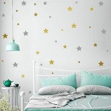 Autocollant mural étoiles pour chambre denfant   Autocollant mural, décoration de la maison, chambre de bébé, papier peint autocollant pour enfants