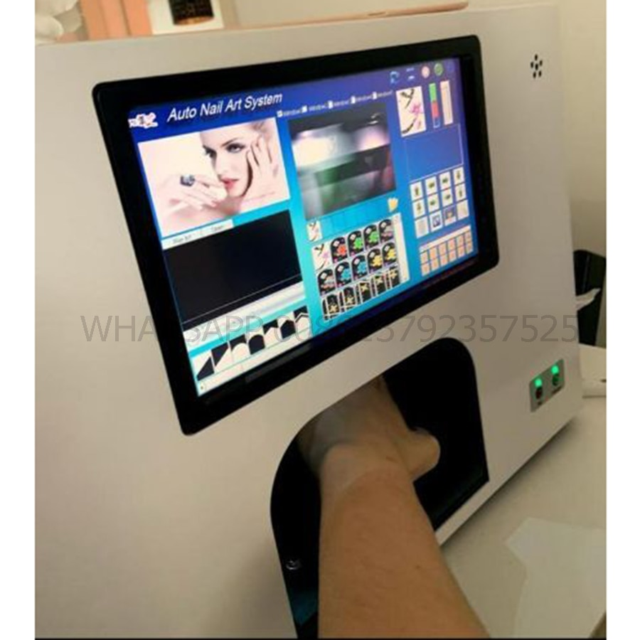 nail art machine with 10.2