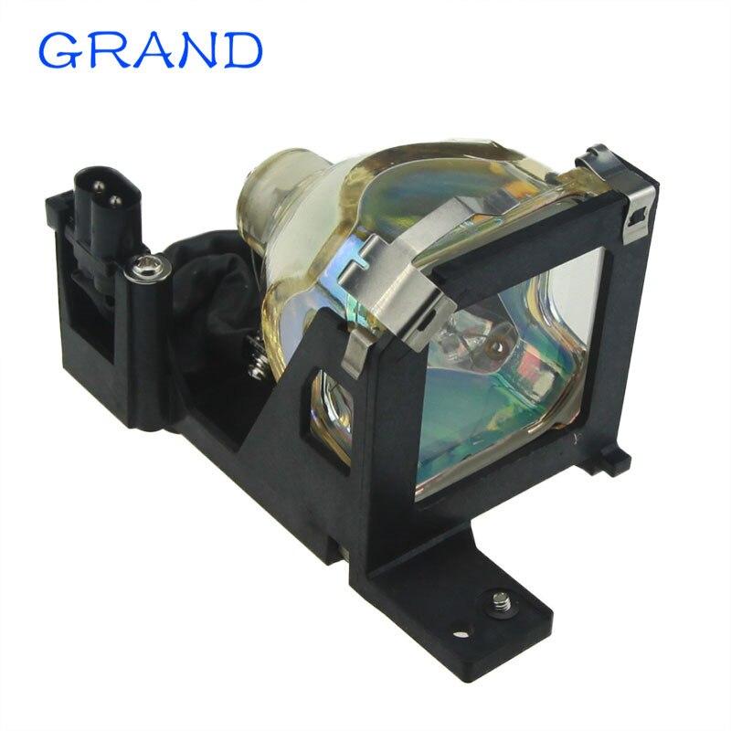 V13H010L25 lampe de projecteur de remplacement pour EMP-TW10, EMP-S1, POWERLITE S1, CP-HS1000, CP-S225 avec boîtier GRAND
