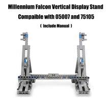 Présentoir Vertical millénium Falcon Compatible avec lego pour 05007 et 75105 modèle de collection ultime