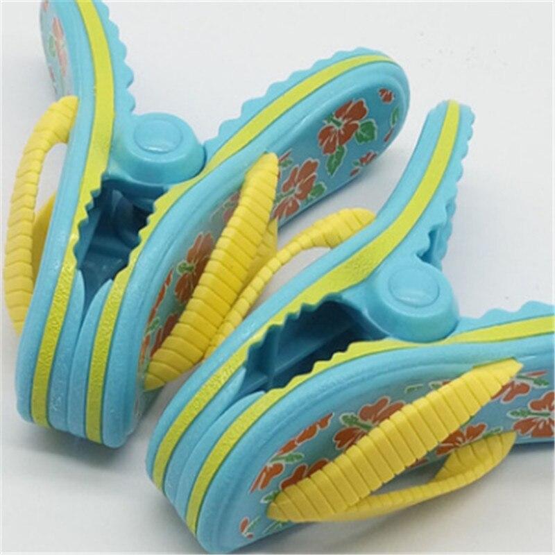 Nueva zapatilla de plástico para playa, Clips de toalla, soporte grande para tumbona, ropa de piscina, pinza para edredón pinzas para calcetines