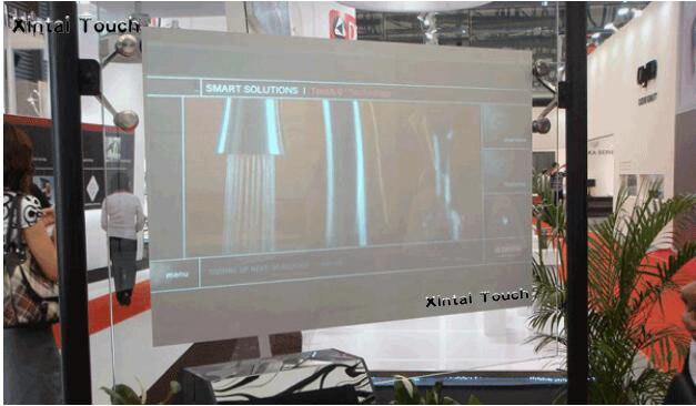شحن مجاني! فيلم شاشة الإسقاط الخلفي ، رقائق بيضاء ، 15 متر مربع (1.524 م * 10 م) ، لون milkwhite