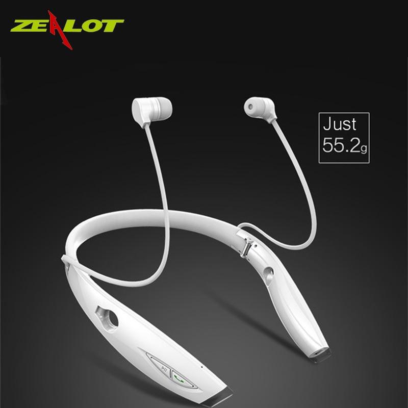 Fanático H1 impermeabile Pieghevole cuffie Senza Fili Auricolare audífonos fone Bluetooth Estéreo auriculares Bluetooth Sportivo Auricolare HiFi Led brazalete