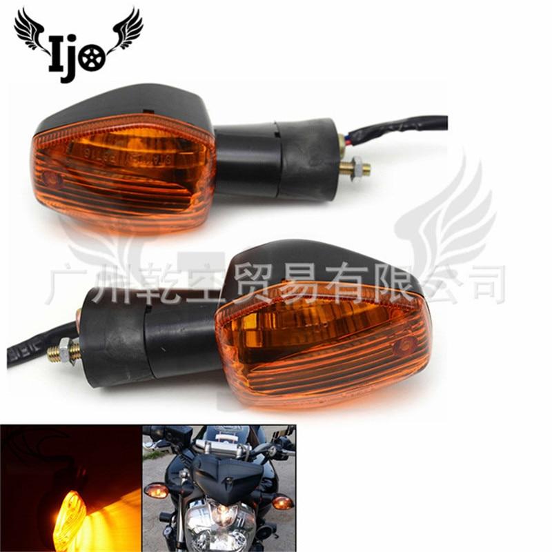 Moto lámpara coche deportivo para Honda Shadow grom msx125 st1300 cb650f CBR600 CBR1000 vtec 400 varadero Luz de señal de giro para motocicleta