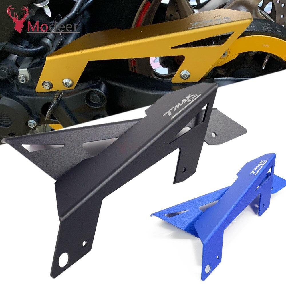 Par tmax530 CNC accesorios de motocicleta cinturón Protector de la cubierta para Yamaha TMAX 530 T MAX t-max 530 2012 2013 2014 2015 2016