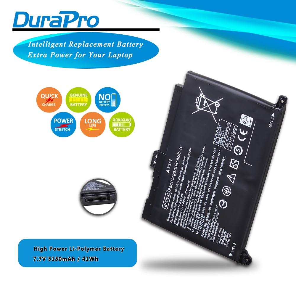 7.7V 41wh 5150mAh Bateria Do Portátil para notebook HP Pavilion PC 15 BP02XL 15-AU 849909-850 (F9-21) 849569-421 HSTNN-LB7H BP02041XL Laptop
