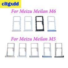 Cltgxdd SIM support fente adaptateur plateau pour Meizu Meilan M5 M6 Sim carte adaptateur pièces de rechange