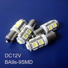 High quality 12V BA9S led lights,LED BA9S car indicating lamp,BA9S led car Signal Lights,BA9S led bulbs free shipping 50pcs/lot
