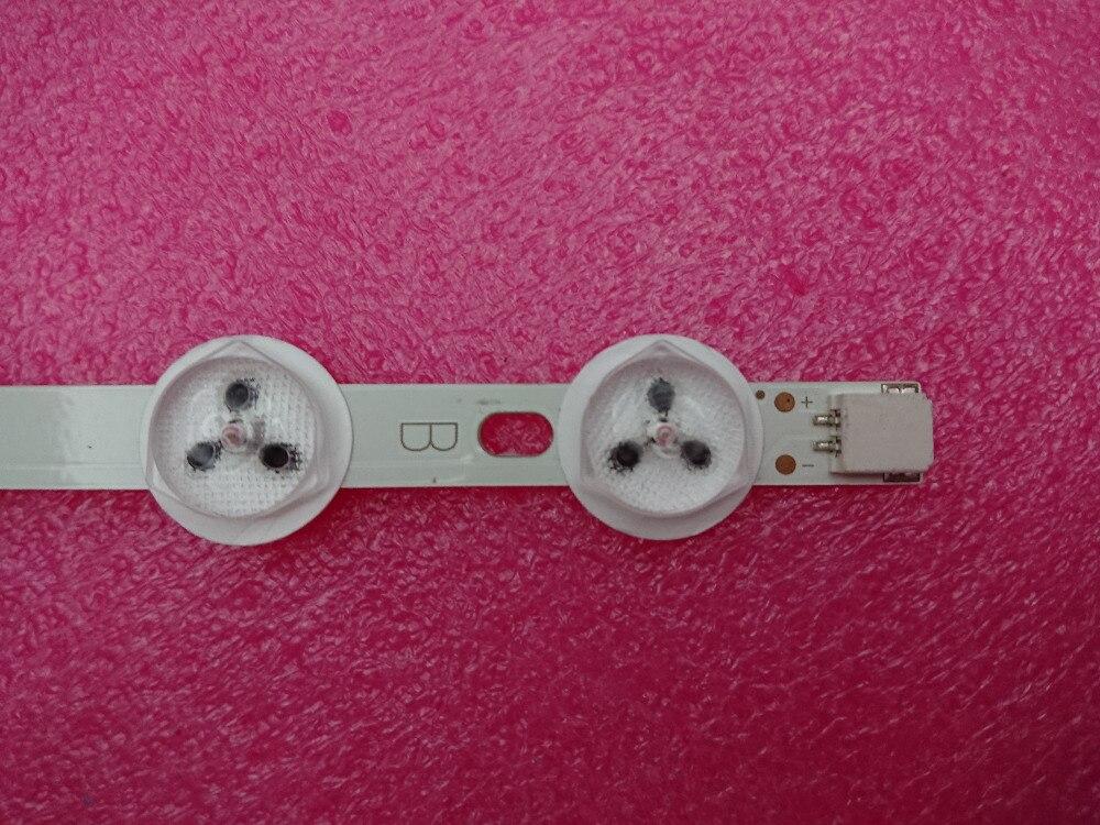 """Nuova striscia di retroilluminazione a LED Per 40 """"NDV REV1.0 ABC TOSHIBA 40L3433DG VESTEL VES390UNDC-01 VES400UNDS-01 VES400UNDS-02"""
