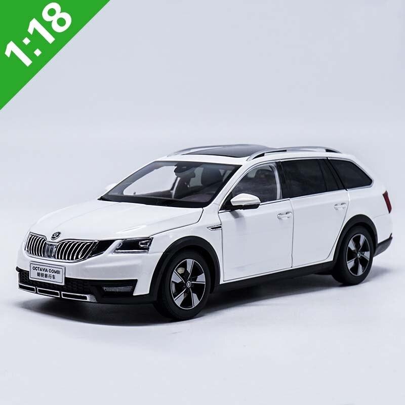 1/18 Skoda Octavia Combi Wagon литая под давлением металлическая модель автомобиля, игрушка для мальчика, подарок на день рождения, оригинальная коробка, бесплатная доставка