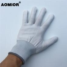 2 пары белых виниловых пленочных перчаток для фотопленки инструменты для обертывания автомобиля пинг