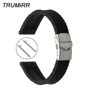 Quick Release Silicone Rubber Watchband for Mido Men Women Watch Band Wrist Strap Bracelet 17mm 18mm 19mm 20mm 21mm 22mm 23mm