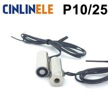 Solénoïde de levage à aimant électrique Non standard personnalisé D10mm * H25mm 0.4Kg/4N DC 6V 12V 24V
