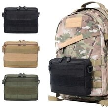 Nieuwe Outdoor Militaire Molle Utility Edc Tool Taille Pack Tactische Medische Ehbo Pouch Telefoon Houder Case Jacht Tas