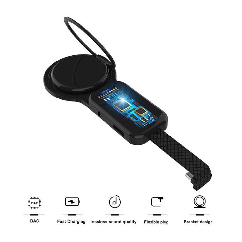 Adaptador de carga de Audio auxiliar USB-C tipo C a 3,5mm para Huawei P20 P30 Pro Samsung S8 S9 S10 adaptador USB C tipo C para auriculares Plus