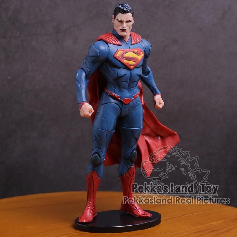 DC Super Héroes Liga injusta Superman Batman Mujer Maravilla PVC acción figura juguete de modelos coleccionables