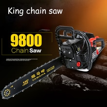 4.8KW scie à chaîne haute puissance scies à essence à main scie à bois scies à chaîne dimportation