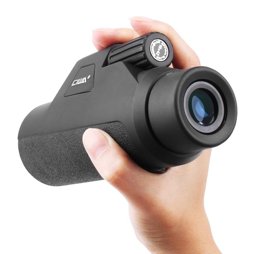 CIWA Professial Good HD Monocular vision eye 10X42 Powerful Single Focus Telescope Eyepiece HD High-power single-lens Monoculars