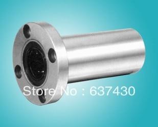 20 unids/lote LMF10LUU 10mm lengthen redondo brida rodamiento lineal