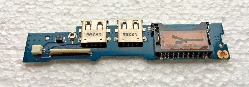 WZSM botón USB junta para Samsung NP530U3C NP540U3C NP540 NP530 lector USB Placa de botón