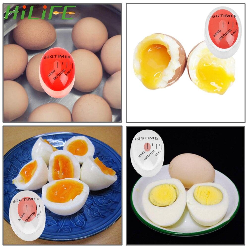 Hilife ovo cozido ferramentas gadgets cozinha ferramentas ovo temporizador cor mudando ferramentas de cozinha