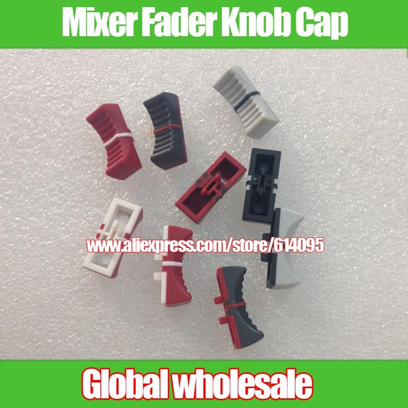 18pcs For Yamaha mixer fader cap MG166CX-USB MG206C hole 4MM / potentiometer push button Adjustment knob